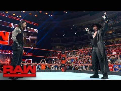 "The Undertaker Introduces Roman Reigns To His ""yard"": Raw, March 27, 2017"