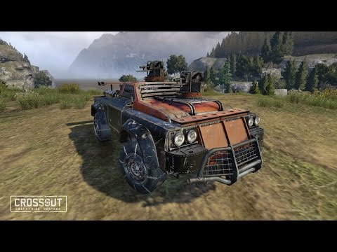 Crossout: 'Convoy escort' / «Сопровождение конвоя»