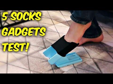 5 Socks Gadgets put to the Test!