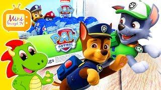 Psi Patrol Chase Rocky Marshall Jajka Niespodzianki! DUŻO JAJEK! Filmik Dla Dzieci Po Polsku