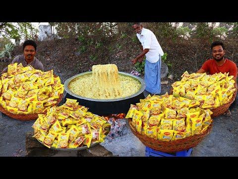 Wow Yummy Chicken Maggi Noodles !!!  Maggi Masala Noodles Recipe With Chicken | Grandpa kitchen - Thời lượng: 12:36.