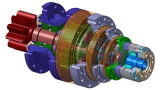 video thumbnail [YoohanENS] Slewing Hoist Planetary Gear Reducer, Gearbox youtube