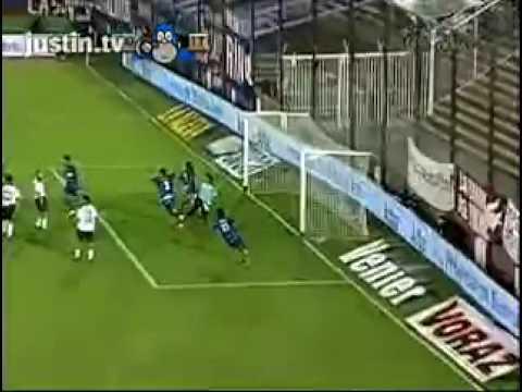 Gol de Giménez a Lanus