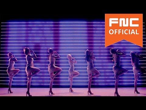 AOA - 단발머리(Short Hair) MV Silhouette Dance Full ver. (видео)