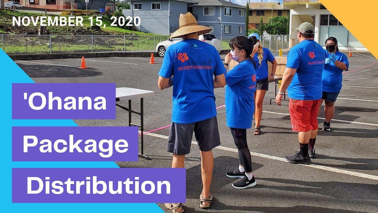 'Ohana Pack Distribution Event