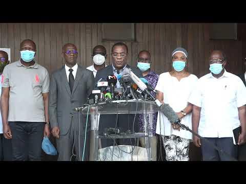 COTE D'IVOIRE :PDCI-RDA: L'OPPOSITION IVOIRIENNE DÉSAVOUE ALASSANE OUTTARA ET FAIT APPEL À UNE TRANSITION CIVILE
