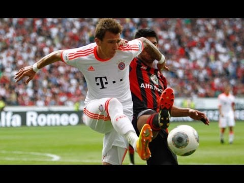 Bayern Munich Vs Eintracht Frankfurt 1-0 Goals & Highlights Bundesliga 8/17/2013