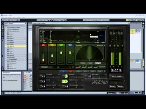 Mastering Trance – Izotope Ozone, SSL Comp, PSP & Waves Plugins