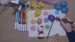 predstavitev barv v Slovenščini s sodelovanjem otroka