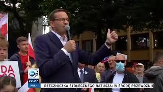 Premier Morawiecki merytorycznie o wyborach.