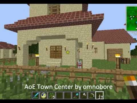 Minecraft Age Of Empires Town Center Minecraft Project