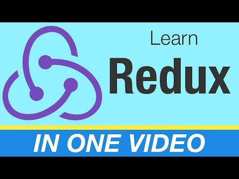 Redux Tutorial - Learn React/Redux In One Video