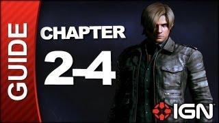 Resident Evil 6: Leon Kennedy Campaign Walkthrough - Chapter 2 pt 4