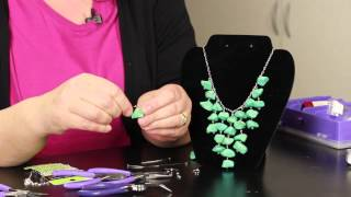 Subscribe Now: http://www.youtube.com/subscription_center?add_user=ehowbeauty Watch More: http://www.youtube.com/ehowbeauty Making stone necklaces is a very ...