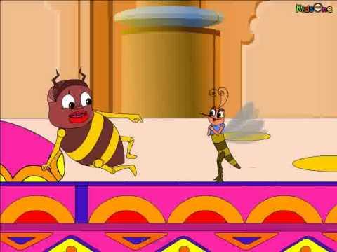 Telugu Animated Panchatantra story  The Bedbug & Mosquito