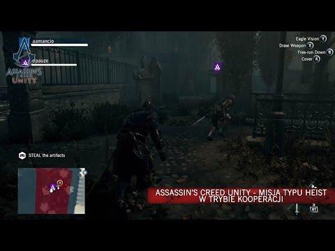 Obejrzyj nowe demo Assassin's Creed® Unity's z komentarzem! Materiał przedstawia misje typu Heist w podziemiach Hôtel-Dieu, najstarszego paryskiego szpitala. W tym rodzaju misji rozgrywanych w kooperacji będziesz musiał w ukryciu infiltrować pilnie strzeż