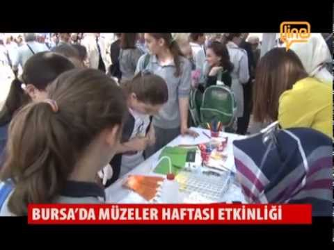Bursa'da Müzeler Haftası Etkinliği  18 Mayıs 2015