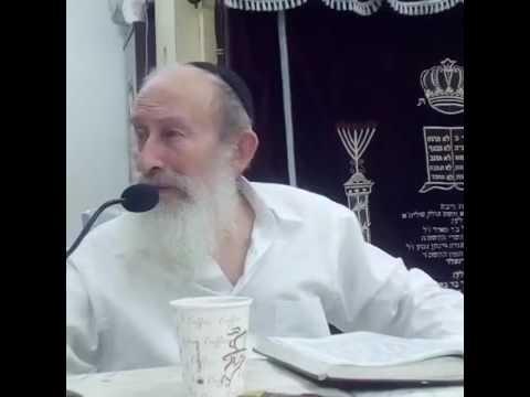 """הרב אהרן הלפרין י""""ג כסלו"""