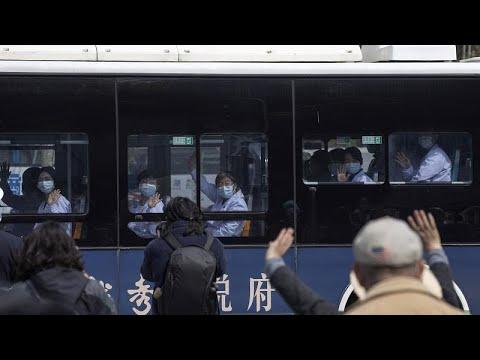 Κανένας θάνατος στην ηπειρωτική Κίνα, για πρώτη φορά αφότου ξέσπασε η πανδημία…