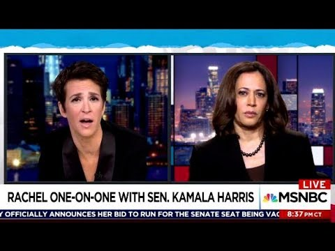 Sen Kamala Harris - Plan B To Keep Muller Investigating & Will She Run In 2020?