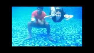 Camila + Matteus - Underwater Save the date