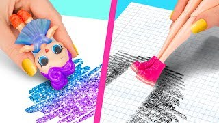 Video 10 Weird Ways To Sneak Barbie Dolls Into Class / Clever Barbie Hacks And LOL Surprise Hacks MP3, 3GP, MP4, WEBM, AVI, FLV Juni 2019