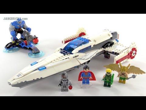 """Конструктор Lego Super Heroes 76028 """"Вторжение Дарксайда - Черных сил"""""""