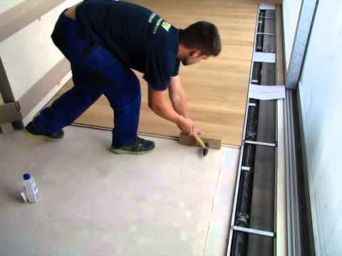 Pokládka plovoucí podlahy<br>kompletně od počátku - 3. díl