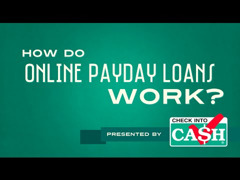 How Do Online Payday Loans Work?
