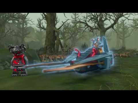 Vidéo LEGO Ninjago 70622 : L'éclair du désert