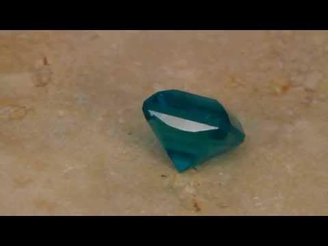 Blue Green Apatite 10.38 Carat