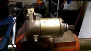 10. Suzuki LT-4WD Quad Runner Starter Repair