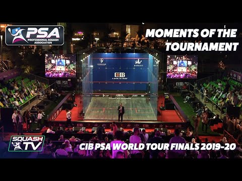 Squash - CIB PSA World Tour Finals 2019-2020 - Moments of the the Tournament