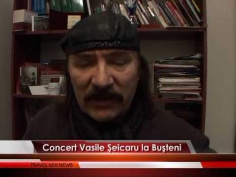 Concert Vasile Şeicaru, la Buşteni