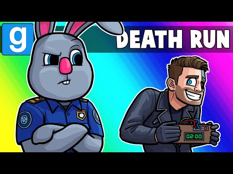 Gmod Death Run Funny Moments - Going Through Airport Security! (Garry's Mod) (видео)