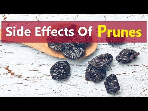 Side Effects Of Prunes