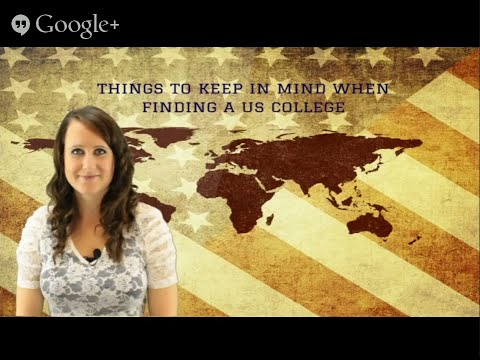 Things to Keep in Mind when Finding a US College