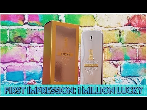 First Impression: Paco Rabanne 1 Million Lucky