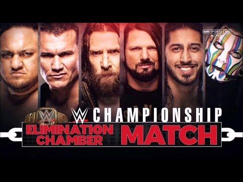 FULL MATCH - WWE Championship Elimination Chamber Match: WWE Elimination Chamber 2019