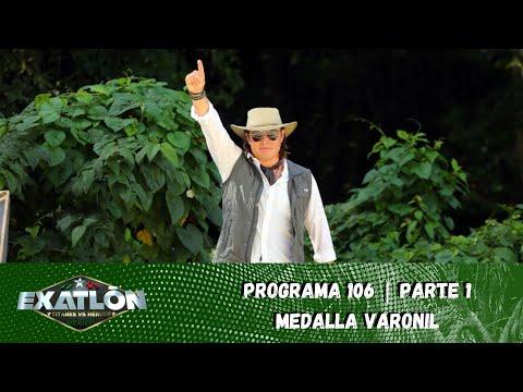 Hombres de Héroes y Titanes compiten por la presea convencional  Capítulo 106, pt. 1  Exatlón México
