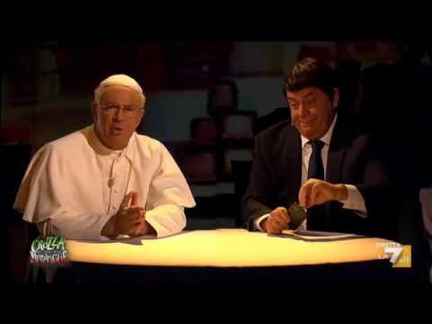matteo renzi e i consigli di papa francesco - crozza