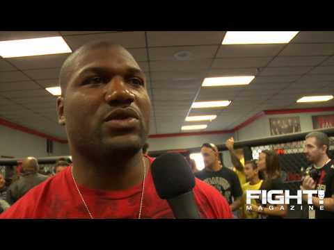 Rampage Jackson talks UFC 123 Lyoto Machida and approaches this fight like a Job Ive Been Doing