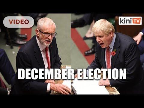 Britain set for December 12 election to break the Brexit deadlock