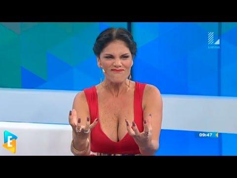 Checa cómo Sandra Arana comprobó la naturalidad de la 'colita' de Karen Schwarz
