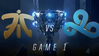 FNC vs C9 | Semifinal Game 1 | World Championship | Fnatic vs Cloud9 (2018)