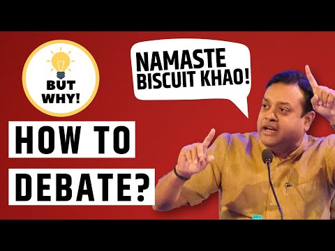 How to debate on National Television  Hindi 