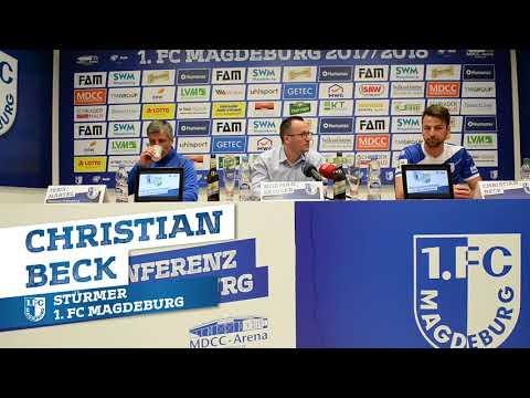 1. FCM: Pressekonferenz vor dem Spiel gegen den Chemnit ...