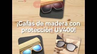 Nuevas gafas de Madera polarizadas en BANGLIO