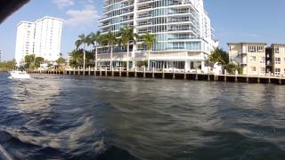 Sit back as we cruise up the Intracoastal Waterway in sunny Fort Lauderdale, Florida. Captured aboard the Fort Lauderdale Water ...