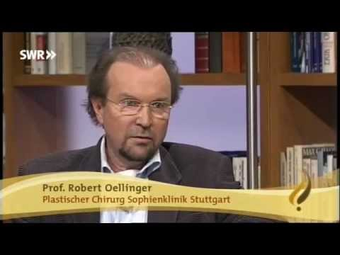 Prof. R. Oellinger im SWR TV